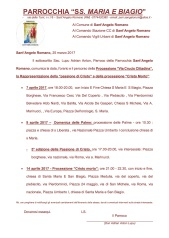Backup di Comunicazione percorsi delle processioni - via crucis e le palme 2017sant'angelo romano